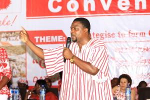 Divine Nkrumah (National Youth Coordinator)